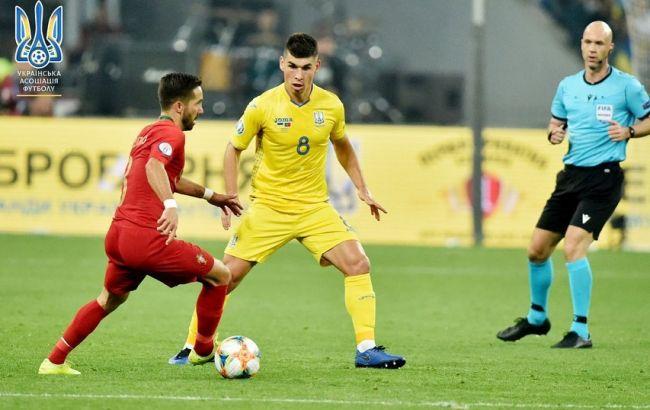 Игрок сборной Украины Малиновский вошел в сборную недели Евро-2020