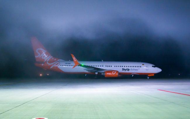 SkyUp запустил новый рейс с Харькова в Тбилиси