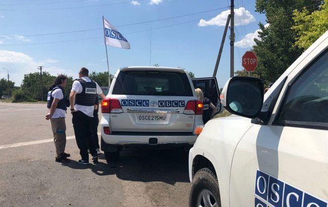 ОБСЕ зафиксировала уменьшение вдвое количества взрывов в Донецкой области