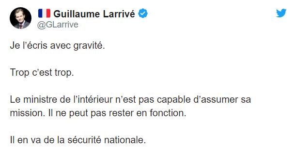 Во Франции требуют отставку главы МВД из-за убийства полицейских
