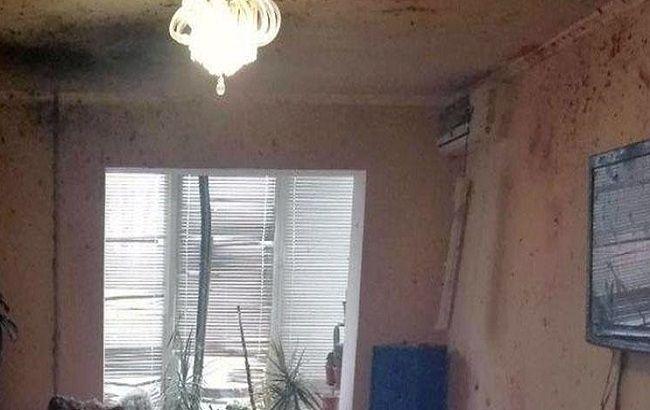 В Марьинке произошел взрыв в жилом доме
