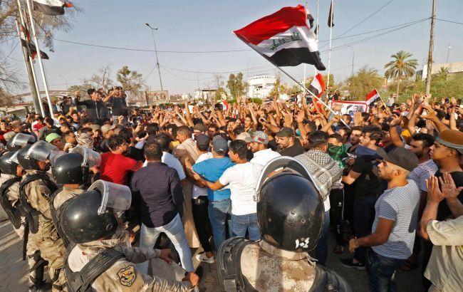 В Ираке в ходе протестов в пятницу погибло 40 человек