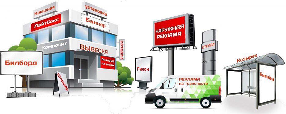 Компания «Media-advertising» предлагает изготовление наружной рекламы в Киеве
