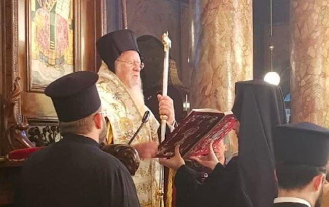 Вселенский Патриарх провел молебен по жертвам Голодомора