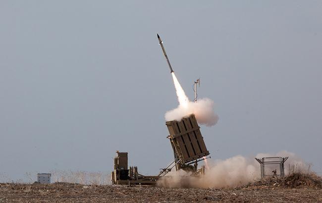 Израиль перехватил четыре ракеты над Голанскими высотами