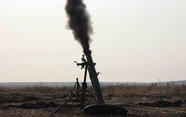 Боевики обстреляли Зайцевое из запрещенных Минском минометов