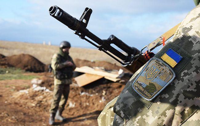 На Донбассе боевую травму получил один украинский военный