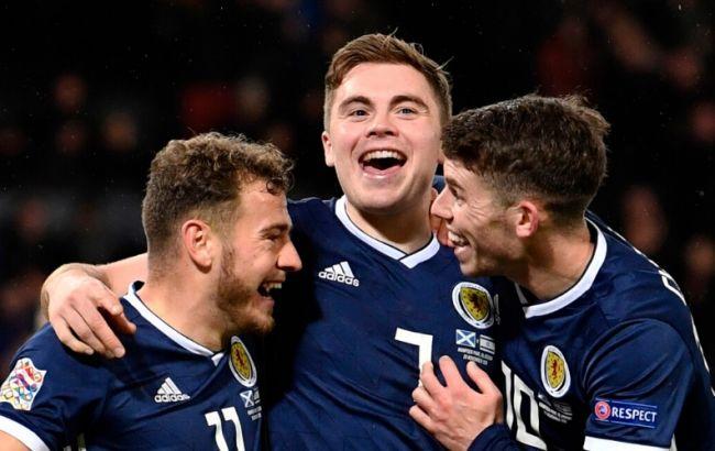Сборная Шотландии может заменить Россию на Евро-2020