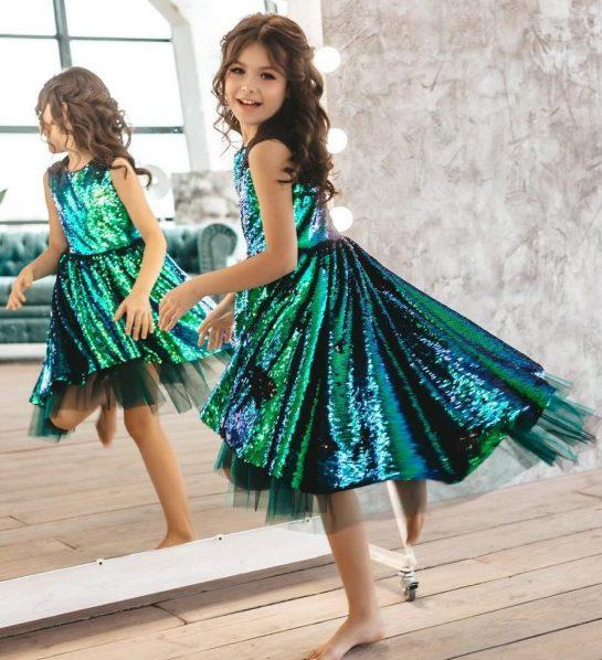 Нарядные платья для девочек от украинского производителя