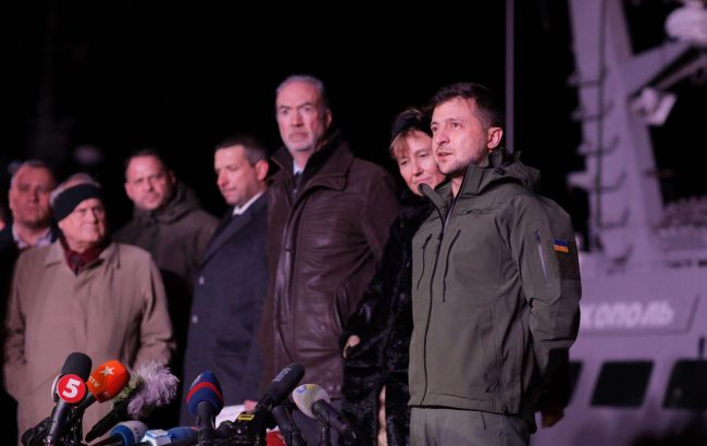 Зеленский сообщил, сколько времени нужно на ремонт украинских кораблей