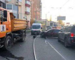 В Харькове произошло тройное ДТП, есть погибший