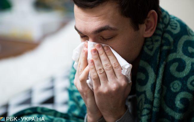 За неделю в Киеве гриппом заболели более 11 тыс. человек