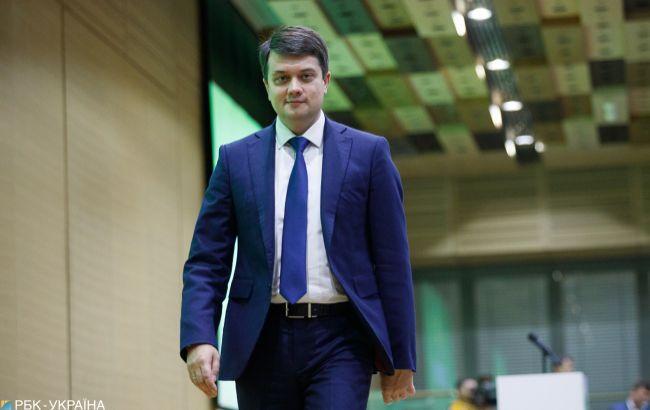 Разумков рассказал о судьбе закона об особом статусе ОРДЛО после нормандской встречи