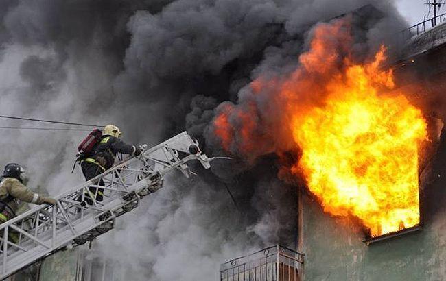 Полиция открыла дело из-за пожара в Киеве