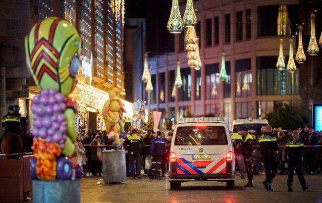 Полиция не обнаружила террористических мотивов у подозреваемого в нападении в Гааге