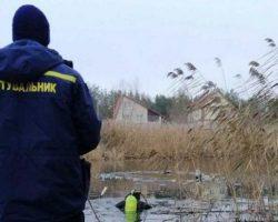 В Киевской области двое мужчин провалились под лед