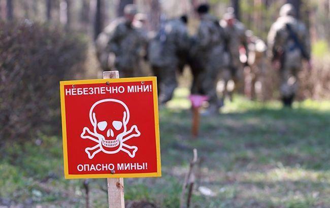 Украина рассказала в ОБСЕ о российских противопехотных минах на Донбассе