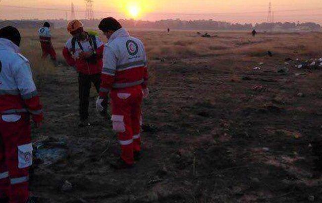 В Иране заявили о невозможности опознать жертв авиакатастрофы