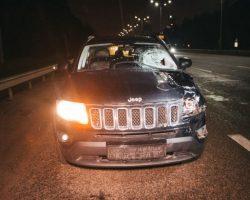 На выезде из Киева насмерть сбили пешехода