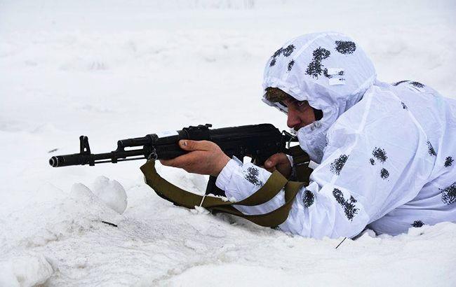 Боевики на Донбассе двенадцать раз нарушили режим
