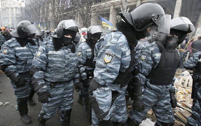 """Бойцы спецподразделения """"Беркут"""""""