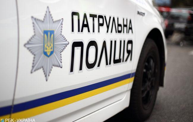 В Полтавской области пьяный водитель напал на патрульного