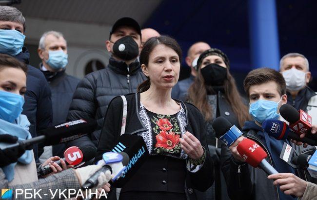 Следствие просит домашний арест для Чорновол, суд отложили из-за отвода