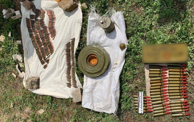 В Херсонской области обнаружили схрон с боеприпасами и средствами поражения