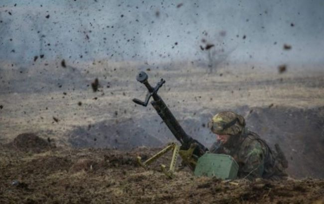 На Донбассе боевики обстреляли военных из гранатомета, есть раненый