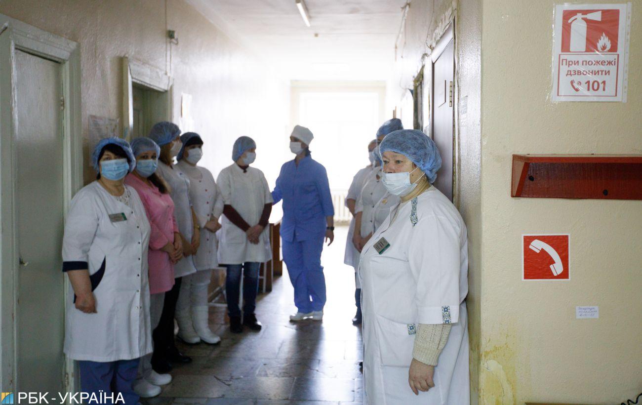 В Украине коронавирусом заболело более 4 тысяч медиков