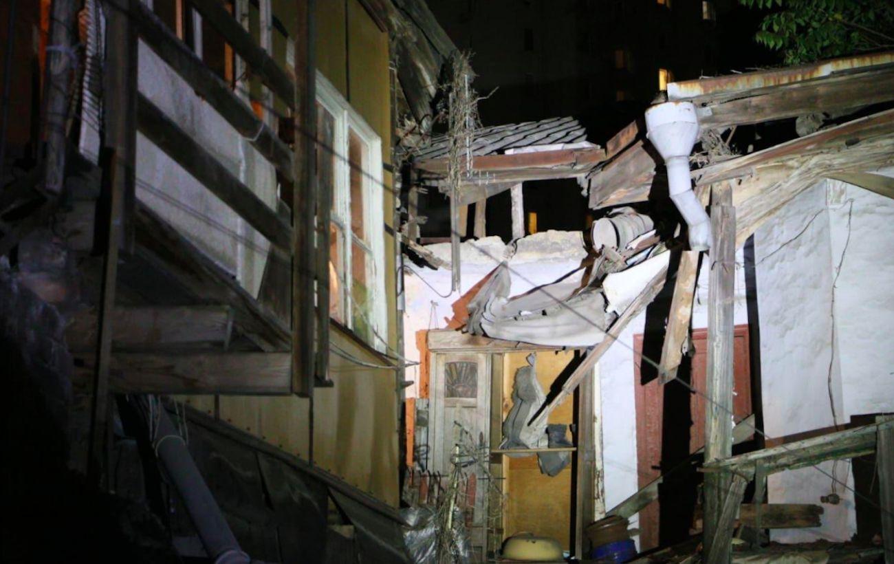 В Одессе обвалился еще один жилой дом