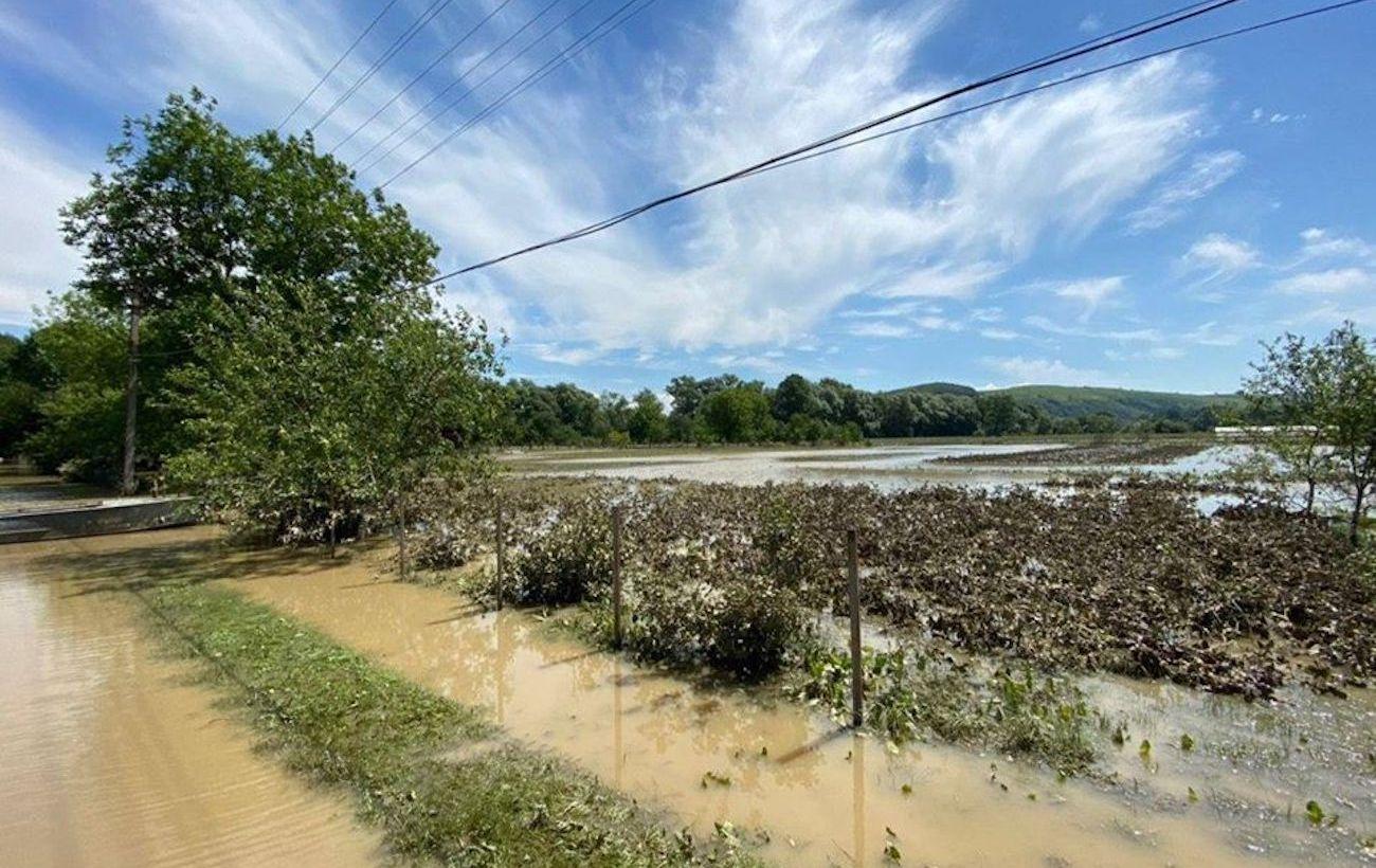 Днестр вышел из берегов, пострадали более 20 населенных пунктов