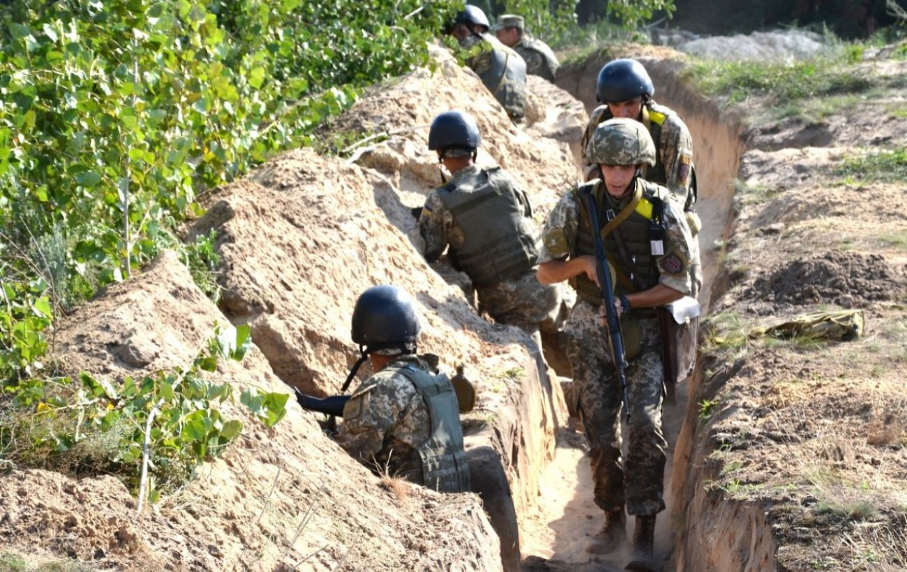 Боевики на Донбассе четыре раза нарушили режим
