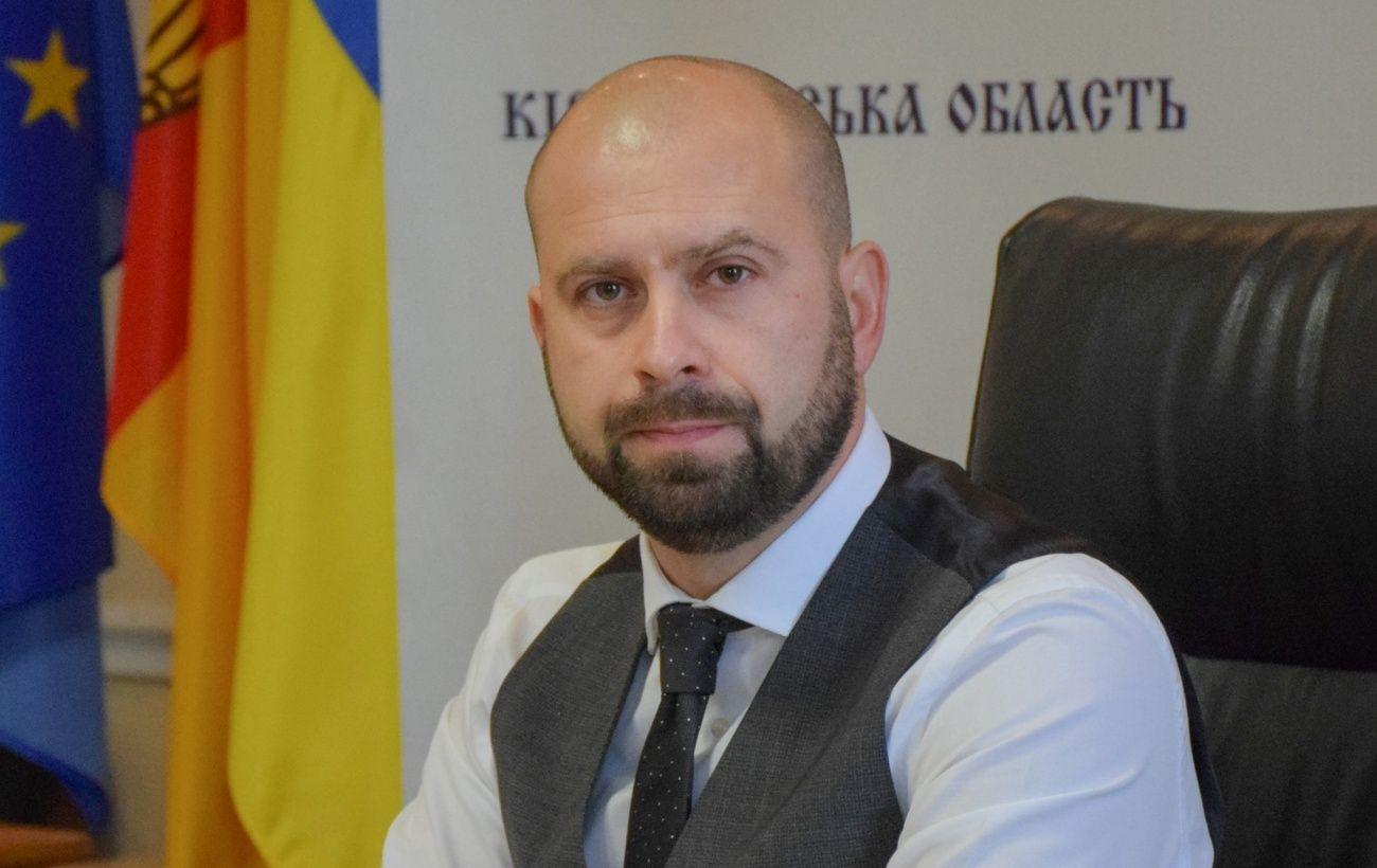 Балоня уволили с должности главы Кировоградской области