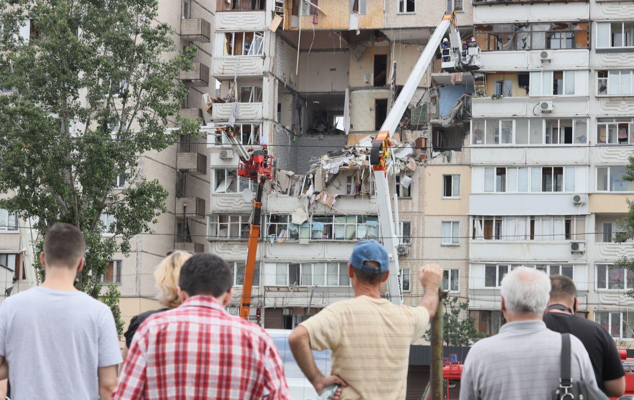 Взрыв жилого дома в Киеве: что известно