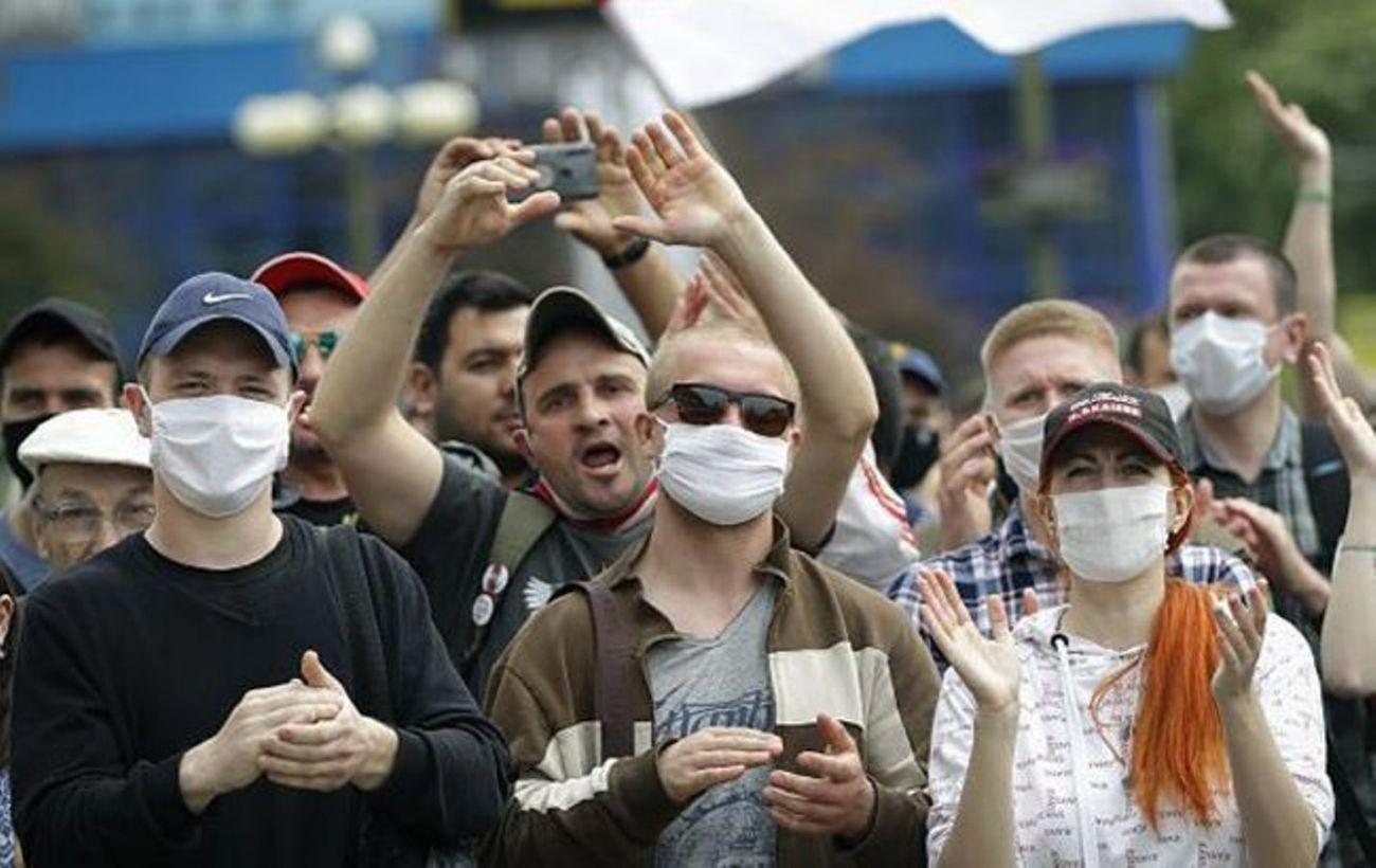 В Беларуси задержали более 100 человек во время протестов