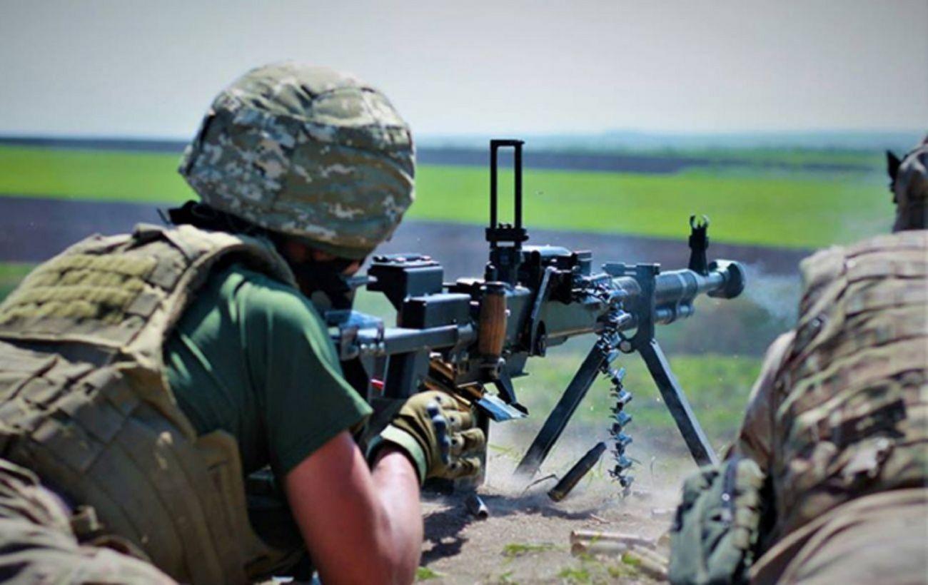Боевики обстреляли позиции ООС из тяжелого вооружения