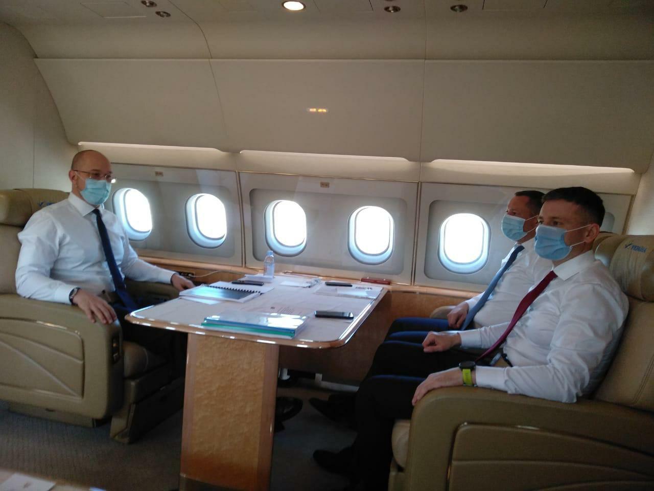 Шмыгаль совершает первый официальный визит в Брюссель
