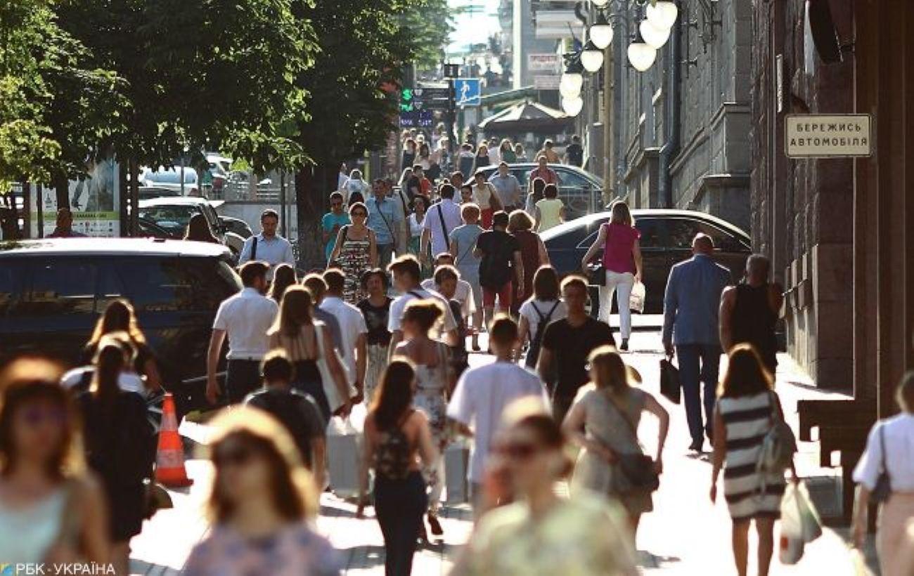 Население Украины в 2020 уже сократилось более чем на 100 тысяч человек