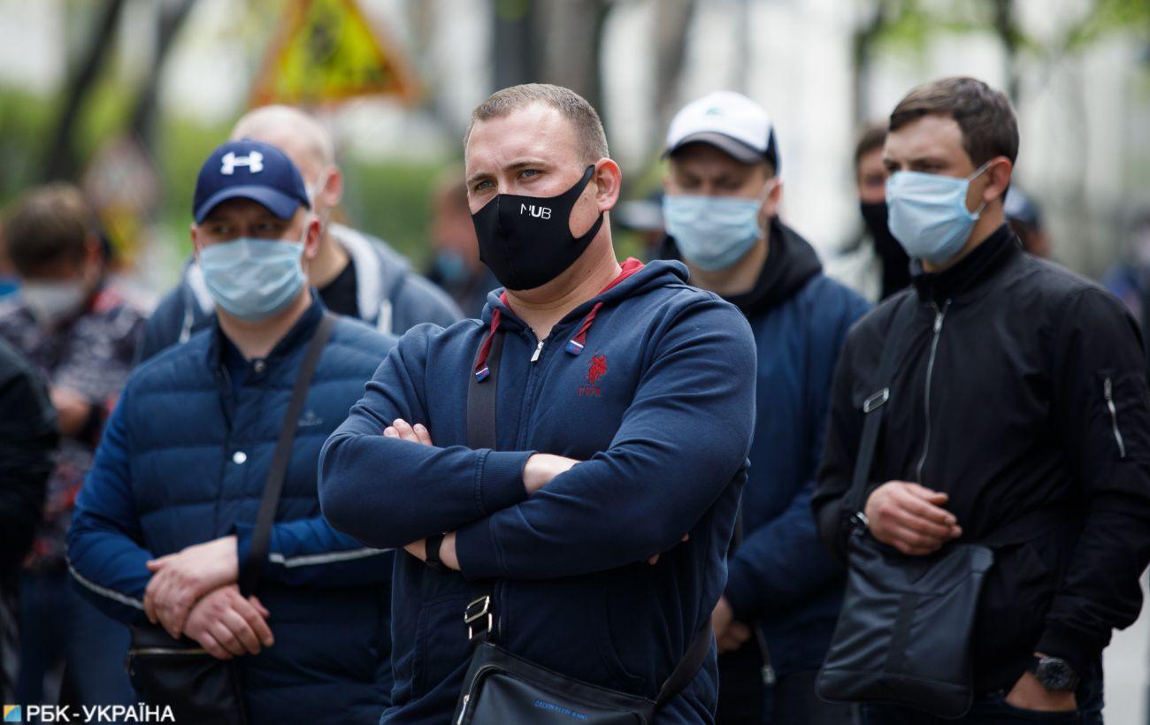 В Украине почти 850 новых случаев коронавируса