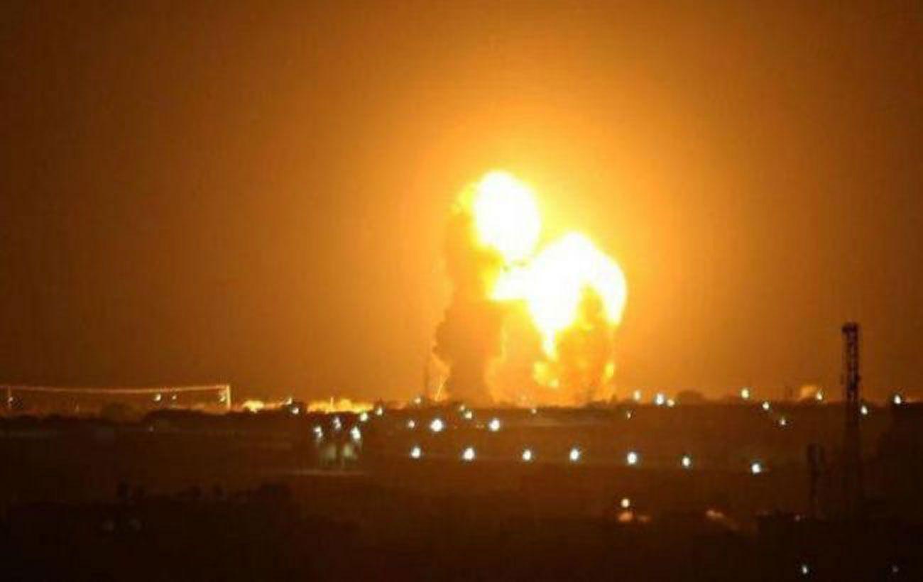 Военная база в пригороде Багдада подверглась ракетному обстрелу