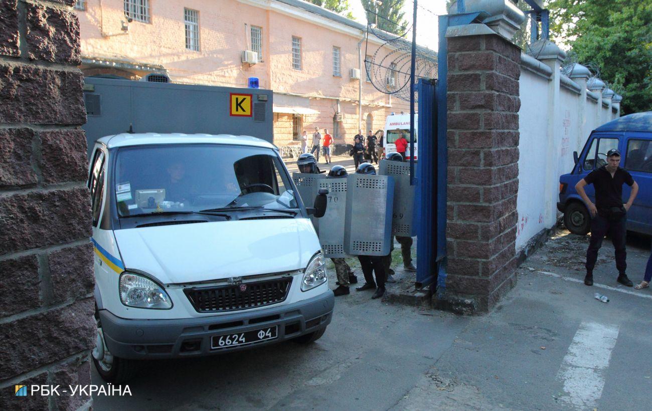 В Лукьяновском СИЗО зафиксировали вспышку коронавируса