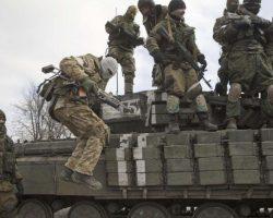 ОБСЕ зафиксировала более десятка танков боевиков под Луганском