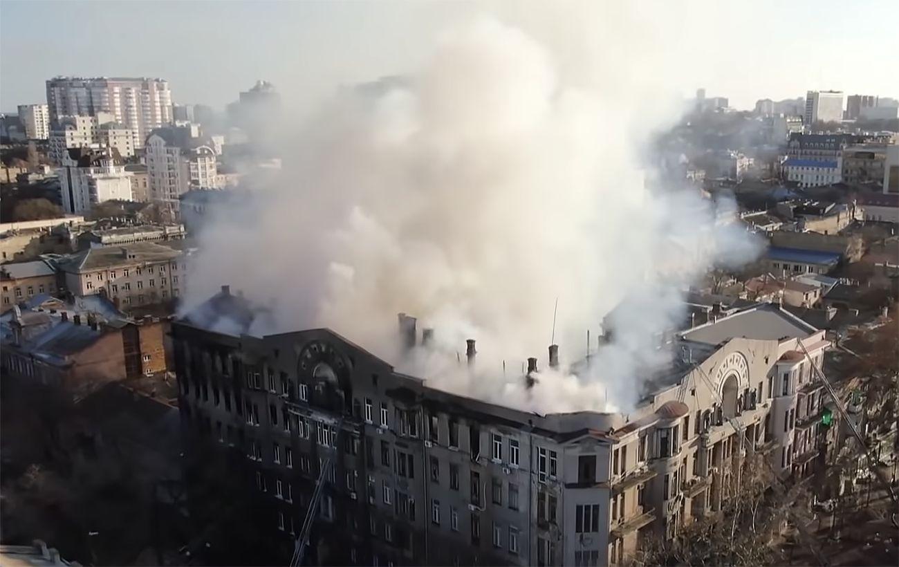 Суд отложил рассмотрение дела о пожаре в одесском колледже до августа