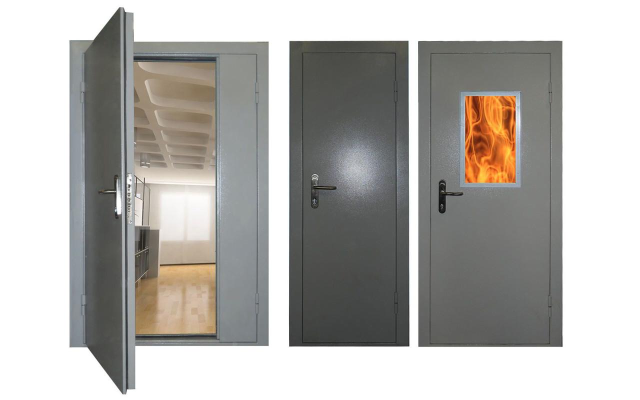 Как определяется противопожарная дверь