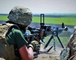 С начала суток на Донбассе сохраняется