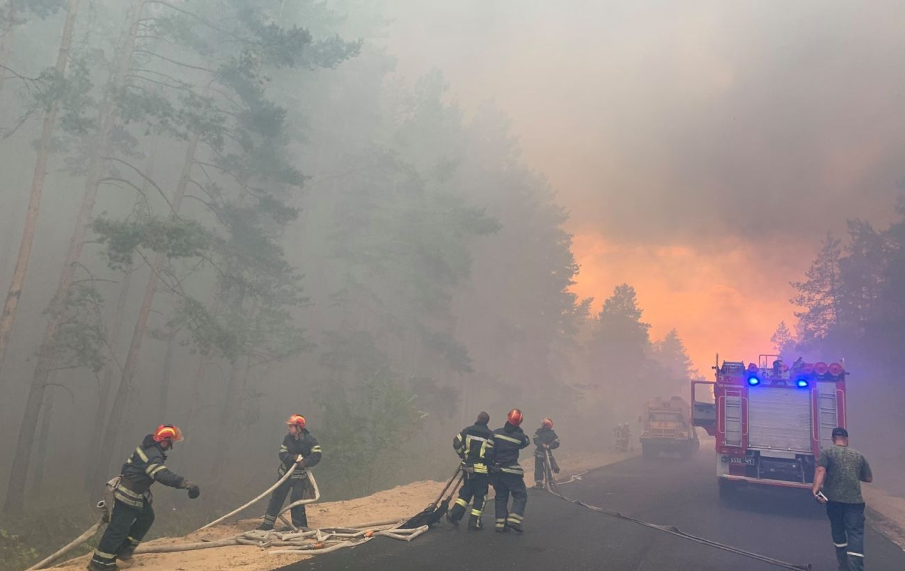 В западных областях объявили чрезвычайный уровень пожарной опасности