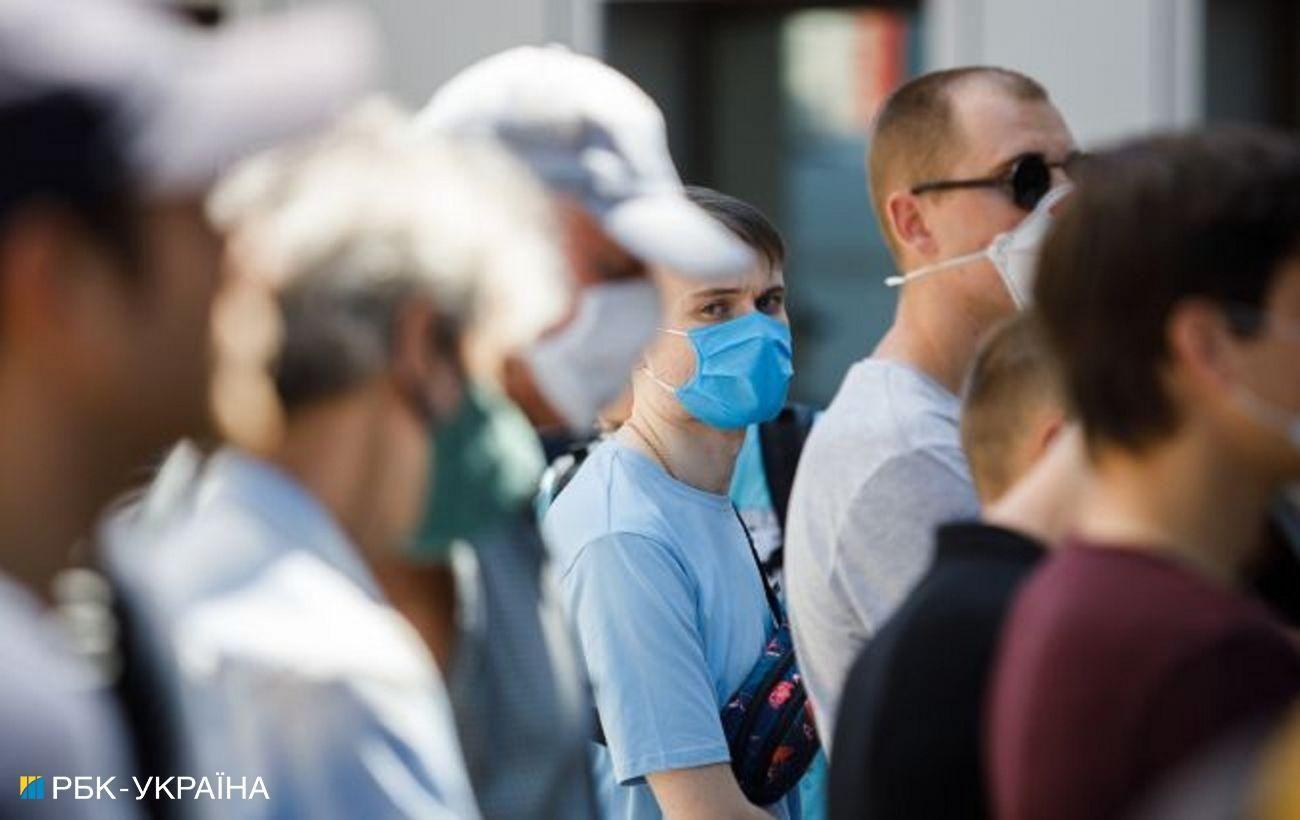 Очередной антирекорд: в Украине за сутки 2328 новых случаев COVID-19
