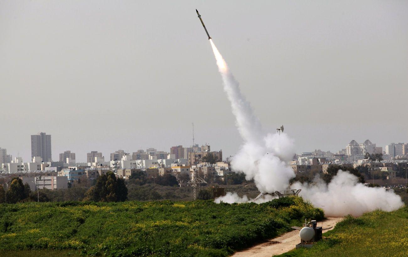 Израиль перехватил выпущенную из сектора Газа ракету