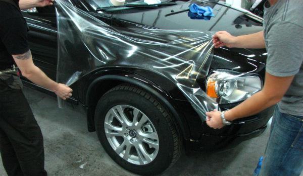 Антигравийная защита авто от компании Vip Detailing